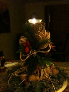 My Yule Candle