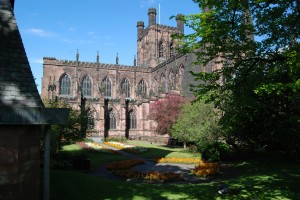 Chester Cathedral, England Photo by John Morgan