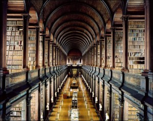The Long Room, Trinity College - Dublin, Ireland