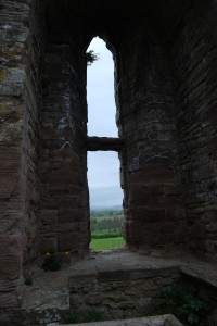 Window Arch, Ludlow Castle, Wales