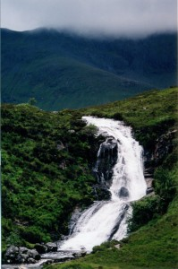 Waterfall on the Isle of Skye ~ Mary's trip
